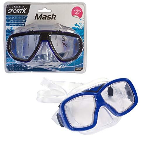 Sportx - 0767003 - Aide À La Nage - Adult Masque De Plongée Comfort