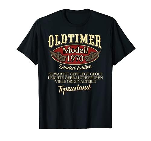 50. Geburtstag 1970 50 Jahre Oldtimer Geschenk Mann Frau T-Shirt