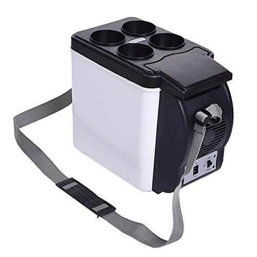 BAOZUPO Mini Nevera 6L frío Caliente portátil eléctrico Nevera compresor congelador para Coche, Barco y jardín de Acampada