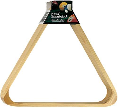 "Viper Billiard/Pool Table Accessory: 8-Ball Rack, Hardwood Triangle, Holds Standard 2-1/4"" Sized Balls"