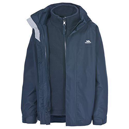 SKYDIVE Unisex Kid's 3 in 1 Jacket NAVY BLUE 3/4