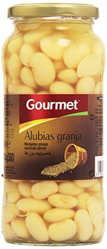 Gourmet - Alubias granja - Primera - 400 g - , Pack de 6