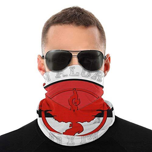 Auld-Shop Monster of The Pocket Go Team Valor Gym Variedad Head Bufanda Cubierta de la Cara Magic Headwear Neck Gaiter Face Bandana Scarf