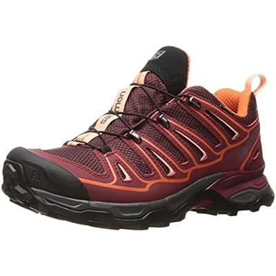 Salomon X Ultra 2 GTX W, Zapatillas de Deporte Exterior para Mujer, Morado (Fig/Tibetan Red/Flame), 36 EU