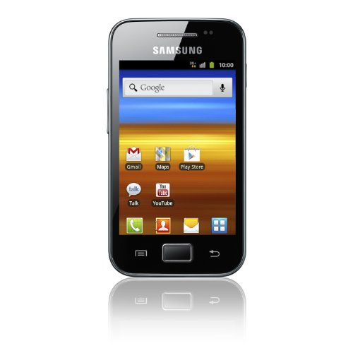 Samsung Galaxy Ace S5830i Smartphone (8,9 cm (3,5 Zoll) Bildschirm, Touchscreen, 5 Megapixel Kamera, Android 2.3) onyx-schwarz