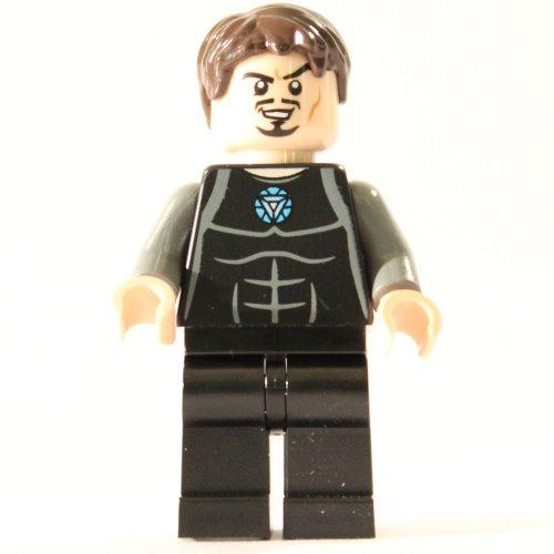 Lego Super Heroes Tony Stark Minifigura