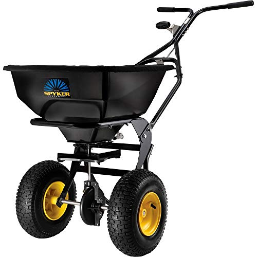 Review Spyker Ergo-Pro Walk-Behind Broadcast Spreader - 50-Lb. Capacity, Model# SPY50L-1P