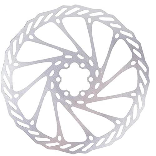 Bicicleta de freno de freno bicicleta de freno de freno de rotores de bloqueo de bloqueo de bloqueo de acero inoxidable 203 mm con 6 tornillos para bicicleta de carretera bicicleta de montaña MTB BMX