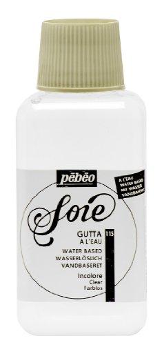 Pebeo Setasilk Gutta Farbe für Seidenmalerei, auf Wasserbasis, 250 ml, Transparent