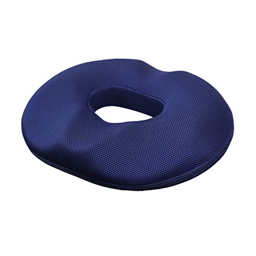 Fesjoy Slow Rebound Seat Cushion Memory Foam Ring Cushion Pillow Pad Tailbone Sciatica Lower Back Pain Relief for Office Desk Chairs Car Seat