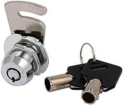 DealMux Kasbox Kabinet Vergrendeling 16 milímetros Cilindro com chave Alike Tubular Cam Lock Camlock