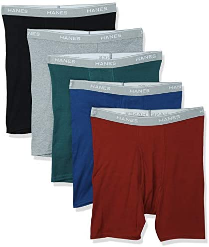 Mens Briefs Mid-Rise Exposed Waistband Red Label 6-pack