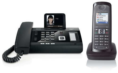 Siemens Gigaset DL500A SET mit 1x E49H Mobilteil – analog, Anrufbeantworter, Bluetooth® ECO DECT