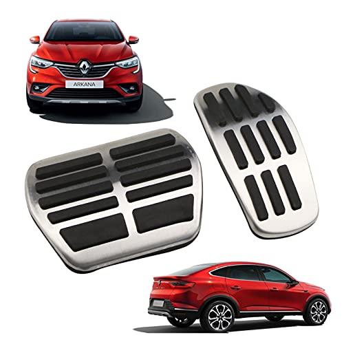 YANGJUANJUAN Pedal de automóviles Auto Pedals Fit para Renault Arkana XM3 Transmisión automática en Pedales de Foot Pedales 2019-2020 (Color Name : ARKANA Sill)