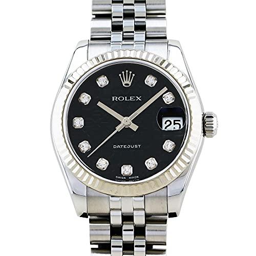 ロレックス ROLEX デイトジャスト 178274G ブラック文字盤 中古 腕時計 ユニセックス (W200177) [並行輸入品]