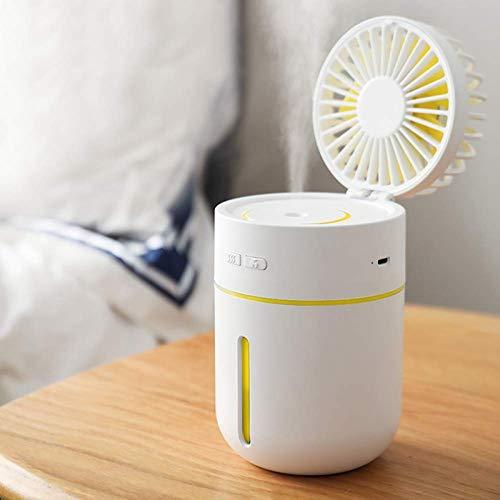 Mini Usb Handheld Luchtbevochtiger Mist Water Spray Airconditioning Hydraterende Ventilator Draagbare Gezicht Spray Mist Luchtbevochtiger Misting