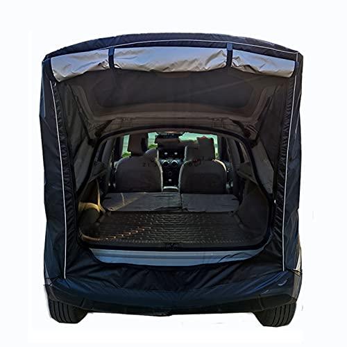 LHQ-HQ PKW LKW Zelt SUV Universal Tragbare Heckverlängerungszelte Regensicherer Sonnenschutz Autodach Für Camping Im Freien,Schwarz