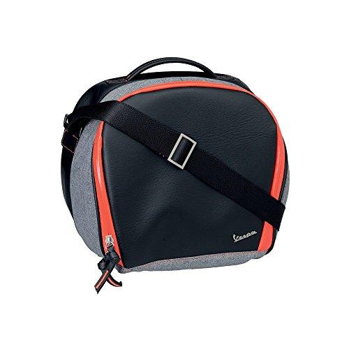 Vespa Original Innentasche schwarz orange für Topcase Primavera Sprint GTS
