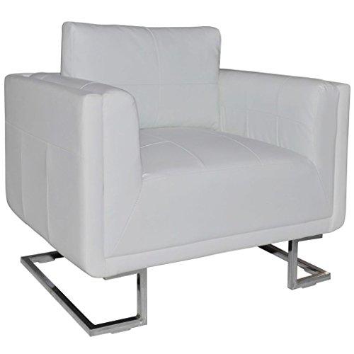 vidaXL Sessel Luxus Armsessel Relaxsessel Ledersofa Clubsessel Loungesessel