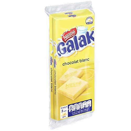 Nestlé Galak - Chocolat Blanc Tablette - 2 tablettes de 100g