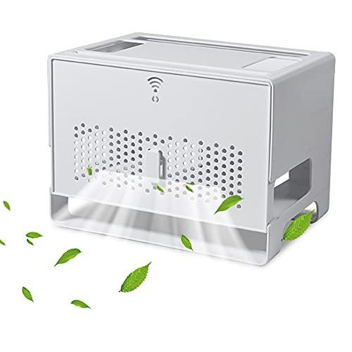 LIUXIN Router Caja de Almacenamiento WiFi, Fuerte Caja de Cables Organizadora para...