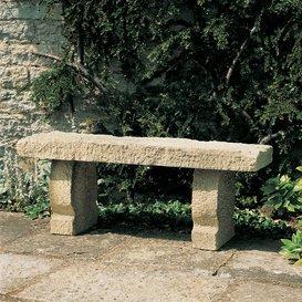 Steinbank aus Steinguss - Genua