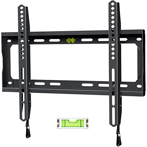USX MOUNT Fixed TV Wall Mount with Low Profile for Most 26-55 Inch LED, LCD and Flat Screen TVs, TV Mount Bracket with VESA Up to 400x400mm and Weight Capacity 99lbs,and Space Saving TV Bracket
