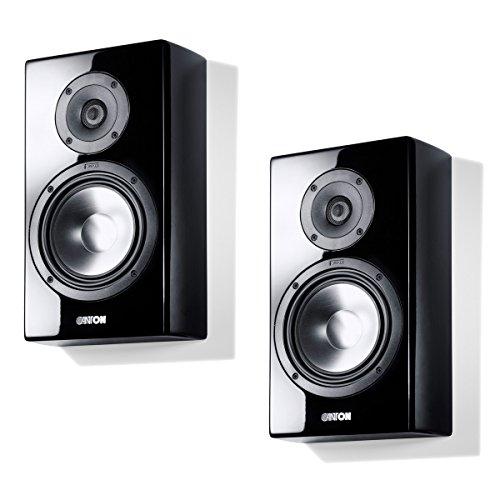 Canton Vento 810.2Lautsprecher für MP3& iPod schwarz