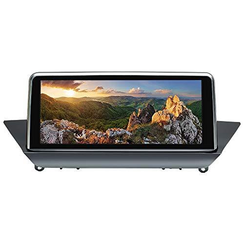 Autoradio Android 10 Navigatore GPS per BMW X1 E84 (2009-2015) Sistema CIC Quad Core 2GB RAM 32 GB ROM con sistema iDrive mantenuto Touch screen da 10,25 pollici Supporta Auto Auto Play WiFi DVR GPS