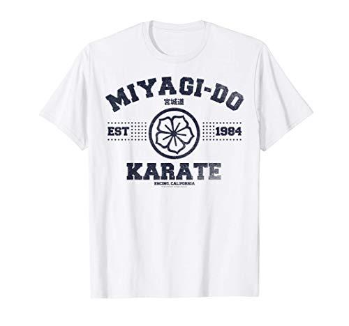 Cobra Kai Miyagi-Do Collegiate Logo T-Shirt
