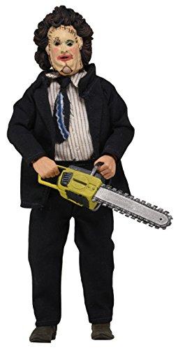 NECA 20,3 cm Texas Chainsaw Massacre habillé Figure avec Leatherface Pretty Lady Masque et dîner pour Homme