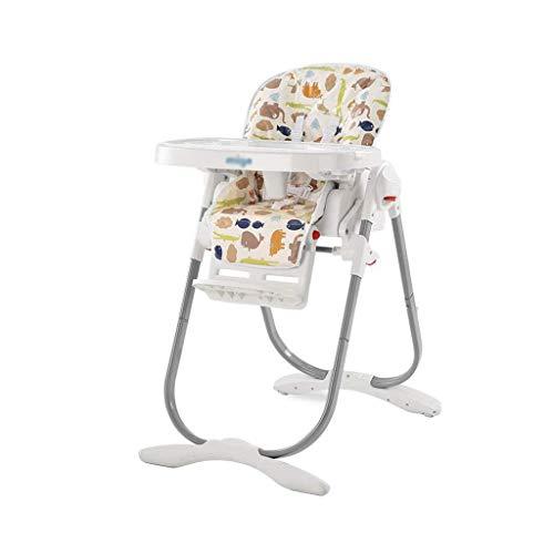 N/Z Living Equipment Trona Silla de alimentación para bebés Ajustable Silla de Mesa de Comedor Plegable