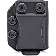 Concealment Express Single IWB/OWB KYDEX MRD Magazine Holster/Mag Carrier: Universal for 9MM/40SW Double Stack - Adjustable Retention via MRD - US Made