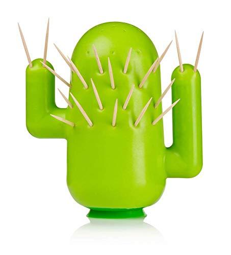 Soporte para palillos de dientes, diseño de cactus