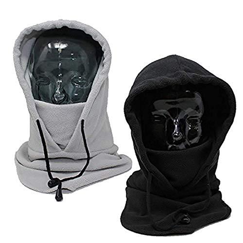 BRAMBLE! 2 Balaclava, Pasamontañas Gorro, Calentador de Cuello Esquí Máscara - Resistente al Viento, Térmico, Respirable | Invierno Al Aire Libre Actividades