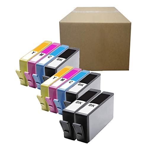 Inktoneram Compatible Ink Cartridges Replacement for HP 564XL (New Version) Photosmart 5510 5511 5512 5514 5515 5520 5522 5525 6510 6512 6515 6520 7510 ([4-Black,2-Cyan,2-Magenta,2-Yellow], 10-Pack)
