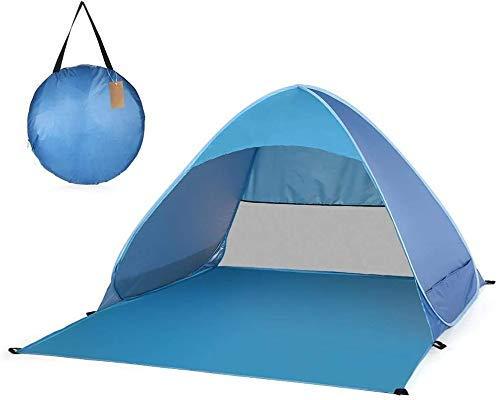 Pop Up Camping Beach Tienda Tienda de viento a prueba de viento Diseño avanzado de ventilación portátil con bolsa de transporte a prueba de viento a prueba de viento for camping Senderismo Montañismo