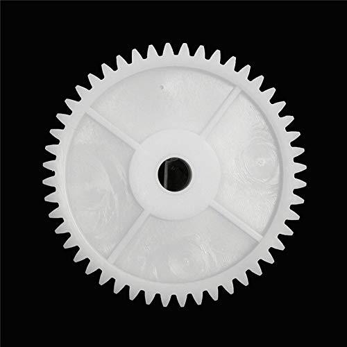 NO LOGO WJN-Motor, 1Pc Plastic Weiß Zahnrad Loch 8mm for 550 Motor Kinderauto Elektro-Fahrzeug Elektrotechnische Anlagen Zubehör Motor Getriebe Accessorie (Größe : 62mm)