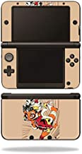 MightySkins Skin Compatible with Nintendo 3DS XL - Monkey Girl | Protective, Durable, and Unique Vinyl Decal wrap Cover | Easy to Apply, Remove, and Change Styles | Made in The USA