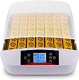Incubatrice Automatica di Uova, Incubatore Intelligente Digitale con Schermo a LCD di Temperatura e Sensore di Temperatura Preciso (56 Uova LED)