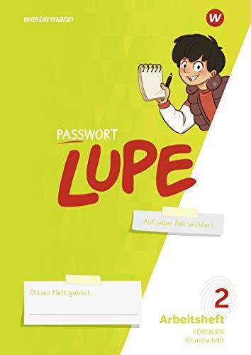 PASSWORT LUPE - Sprachbuch: Arbeitsheft 2 GS: Fördern