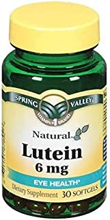 Spring Valley - Lutein 6 mg, with Zeaxanthin, 30 Softgels