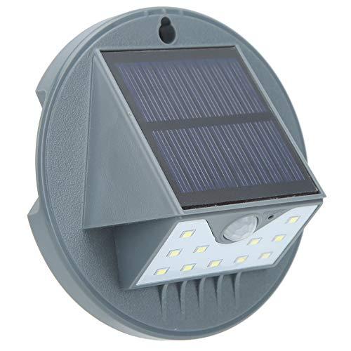 Luz solar de pared, ABS impermeable de bajo consumo + polisilicon protección ambiental luz solar, lámpara de pared paisajística, 2 unidades, jardín para Co