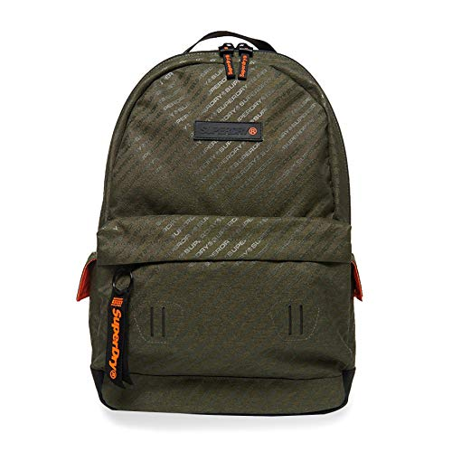 Superdry Hollow Montana Backpack One Size Dark Green Aop