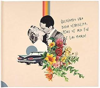 Recuerding - Album photo pour Mariage, 48 pages (27x24cm) | Moderne et original | Coller et écrire | Personnalisable | Fab...