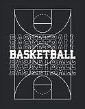 Libro de jugadas de baloncesto para entrenadores (Basketball): baloncesto Cuaderno para dibujar jugadas de baloncesto, ejercicios y exploración
