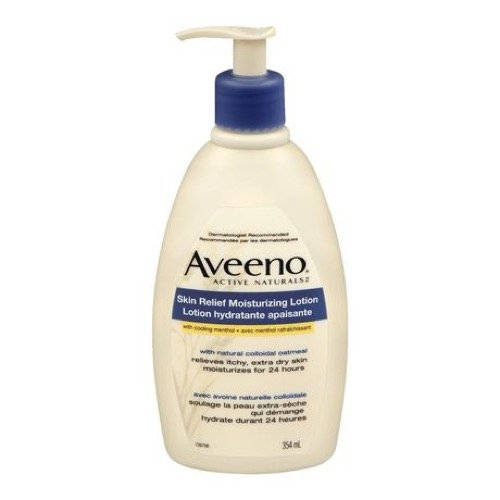Aveeno Active Naturals Skin Relief Moisturizing Lotion, 12-Ounce