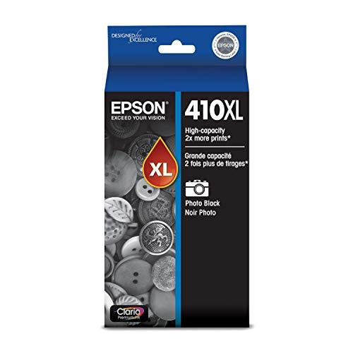EPSON T410 Claria Premium Ink High Capacity Photo Black Cartridge (T410XL120) for select Epson Expression Premium Printers