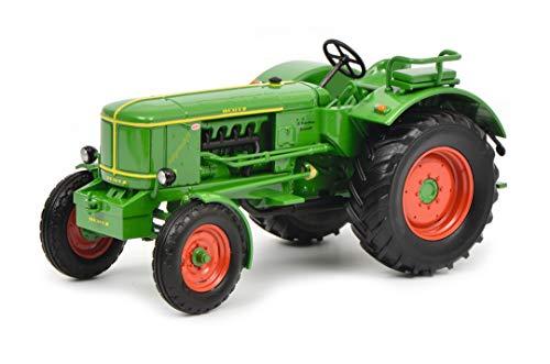 Schuco 450782200 - Deutz F4 L 514 Traktor, Modellauto, 1:32, grün