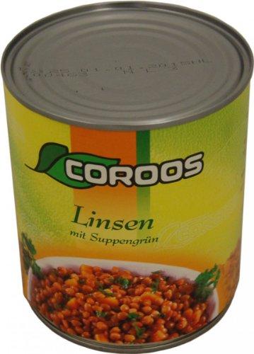 Noliko Gemüse, Linsen mit Suppengrün, 530 g